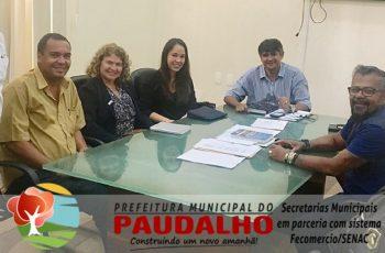 Reunião é realizada com a participação dos Secretários municipais e representantes do sistema Fecomercio/Senac
