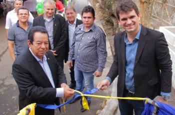 A Prefeitura Municipal do Paudalho inaugura unidade móvel do ODONTOSESC