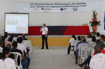Foi realizada a VI Conferência Municipal de Saúde de Paudalho