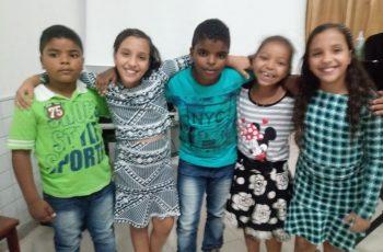 """""""Não veja a hora"""", diz aluna da Escola Genilda Martins sobre parque de diversão na Semana da Criança"""