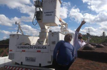 Prefeitura do Paudalho divulga cronograma de serviços de iluminação pública na cidade