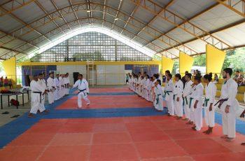 Campeonato Norte e Nordeste Karatê atrai atletas de diversas cidades a Paudalho