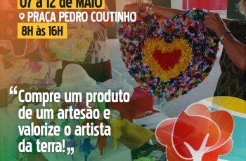 Valorização e compromisso: Feira de Artesanato reúne artesãos em Paudalho