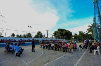 Prefeitura do Paudalho dá Ordem de Serviço de obra na Escola Maria de Fátima, em Chã de Cruz