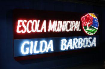 Após reconstrução, Escola Municipal Gilda Barbosa é entregue à população