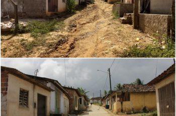 Ruas prontas nas comunidades da Usina Mussurupe e Chã de Camila
