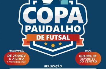 440 atletas participarão da Copa Paudalho de Futsal 2019