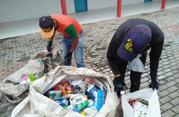 Paudalho proporciona coleta de resíduos sólidos em Guadalajara por meio da ação Dia do Descarte Consciente