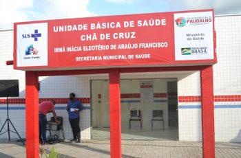 Com foco na saúde, Paudalho inaugura Unidade Básica de Saúde em Chã de Cruz