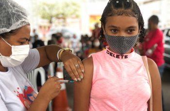 Paudalho inicia vacinação contra a covid-19 para jovens a partir dos 12 anos de idade