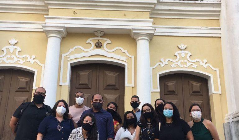 Durante a presença em Paudalho, os participantes do ReDEC puderam conhecer a Igreja de São Severino do Ramos. Foto: Ana Alice Barros/ReDEC.