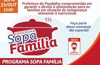 Prefeitura do Paudalho realizará lançamento do Programa Sopa Família nesta sexta-feira (15)